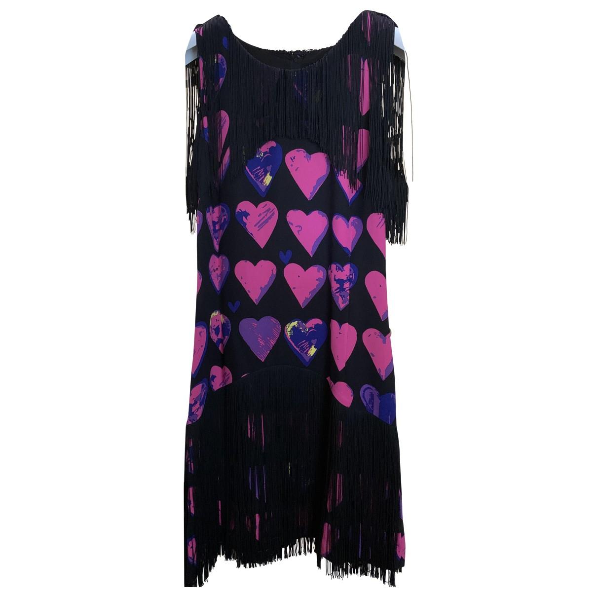 Vestido midi de Seda Versace X H&m