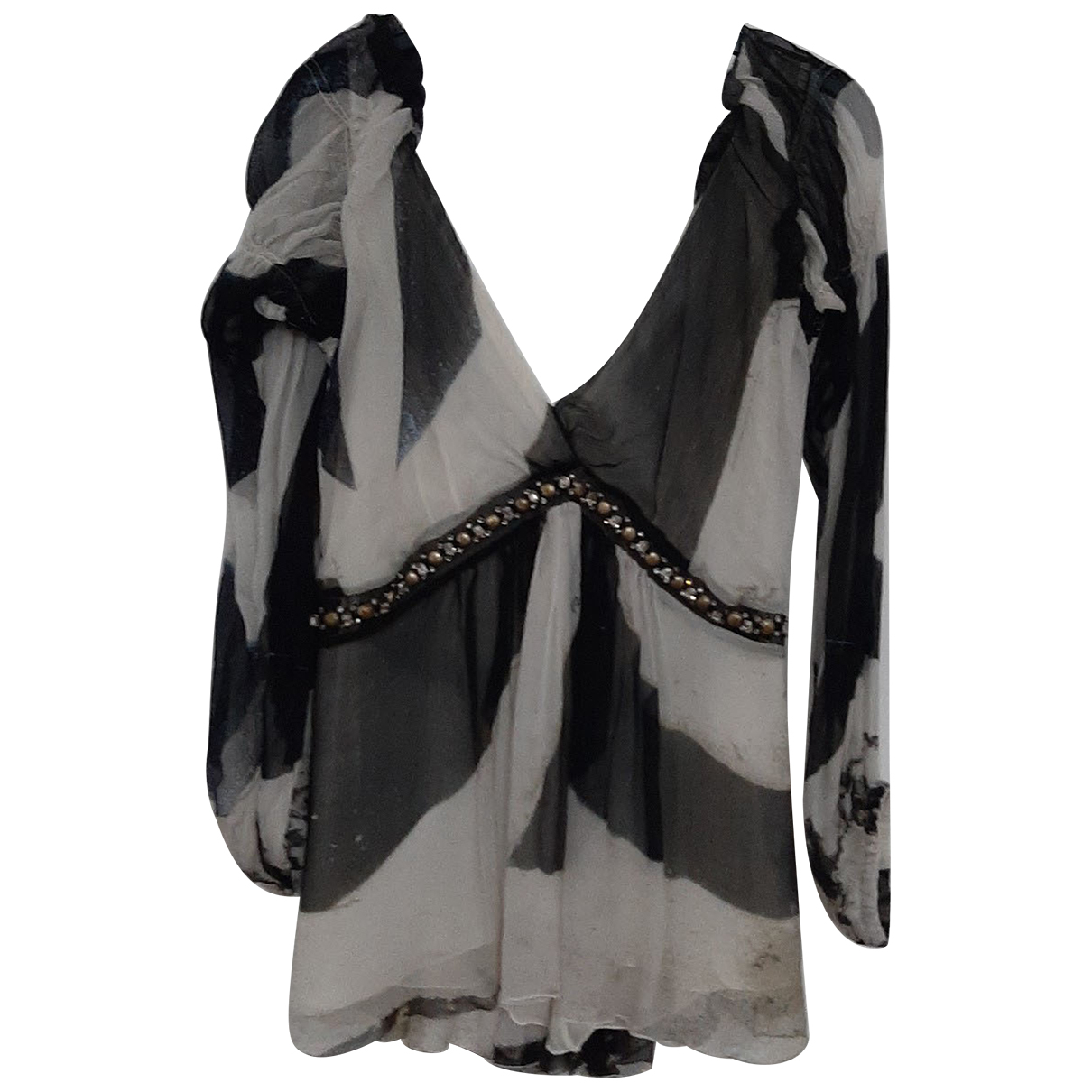 Roberto Cavalli N Multicolour Silk  top for Women 40 IT