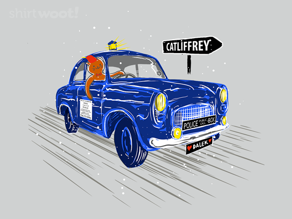On The Road To Catllifrey T Shirt
