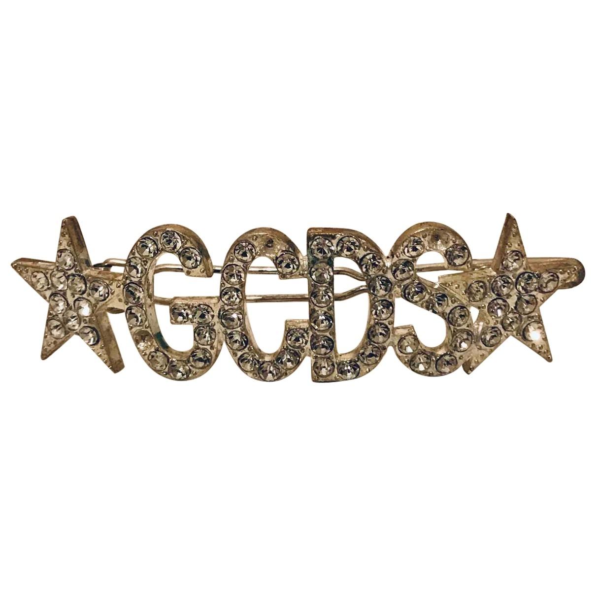 Gcds \N Haarschmuck in  Metallic Stahl