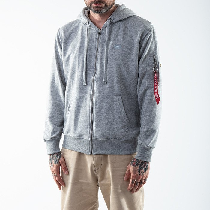 Alpha Industries X-Fit Zip Hoody 158322 17