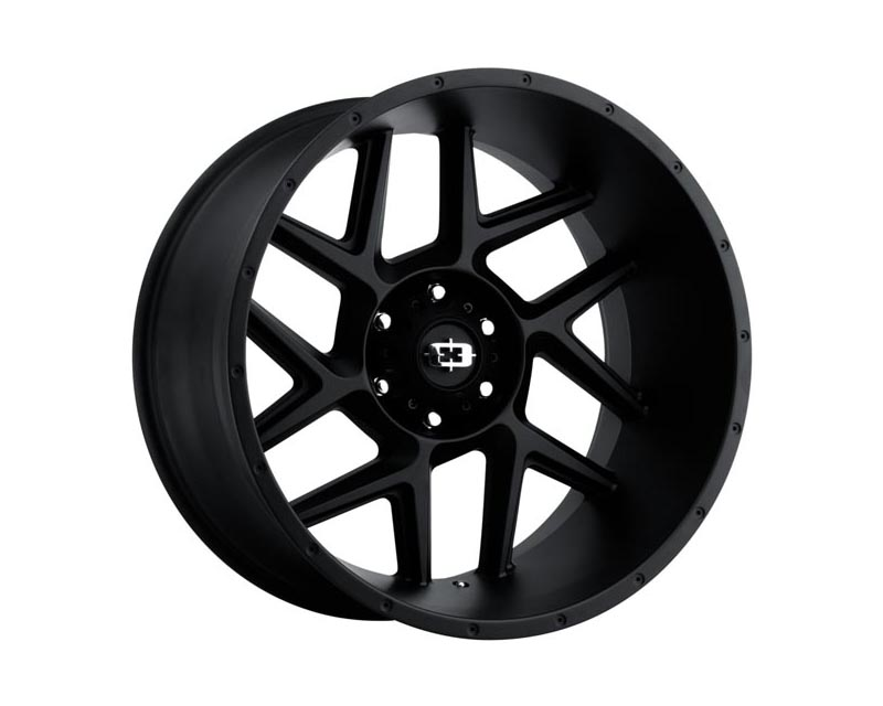 Vision Wheels 360-20236SB-51 Sliver Wheel 20x12 6x1350x51 BKMTXX Satin Black