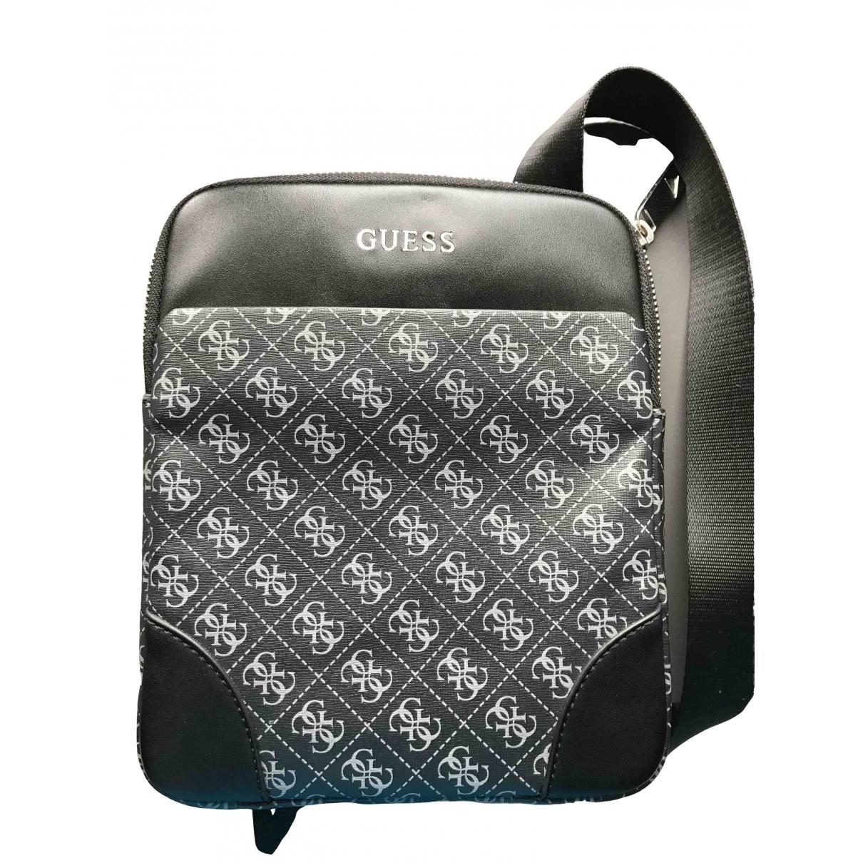 Guess \N Black Exotic leathers bag for Men \N