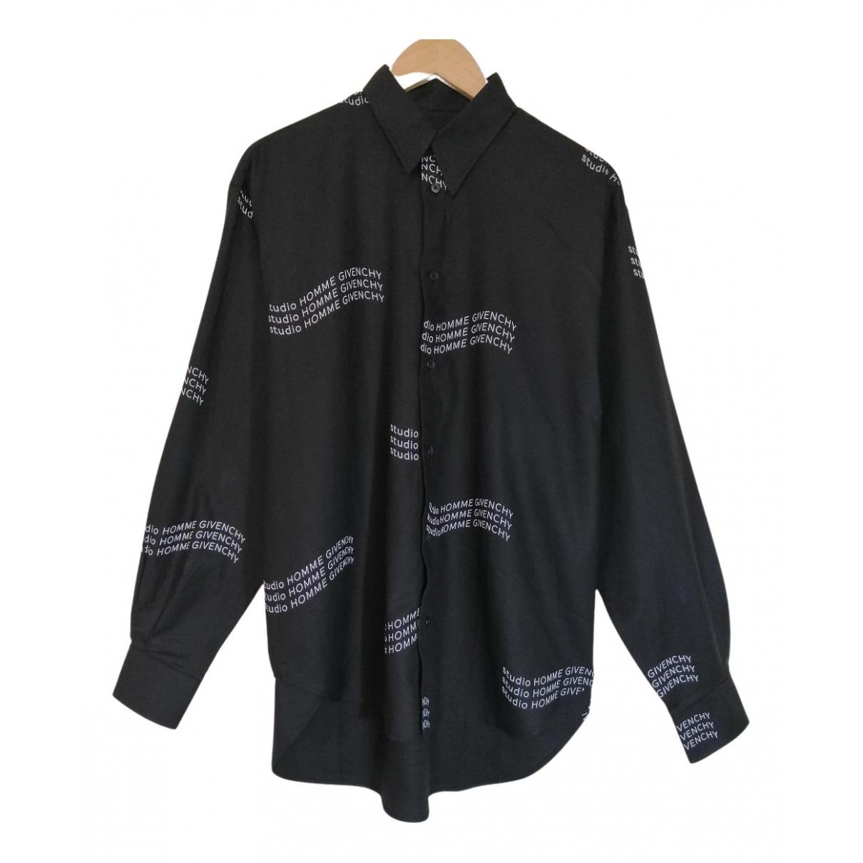 Givenchy N Black Cotton Shirts for Men M International