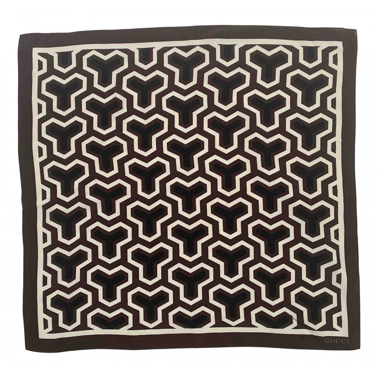 Pañuelo / bufanda de Seda Gucci