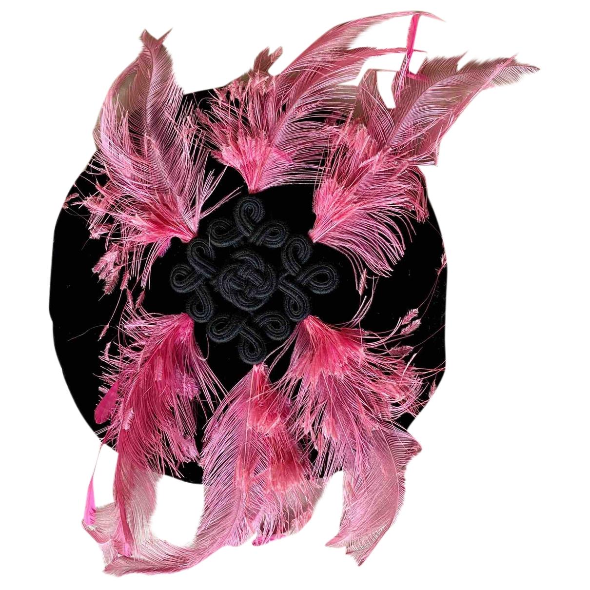 Saint Laurent \N Black Cloth hat for Women 57 cm