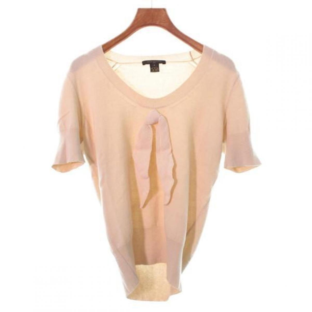 Louis Vuitton - Pull   pour femme en cachemire - beige