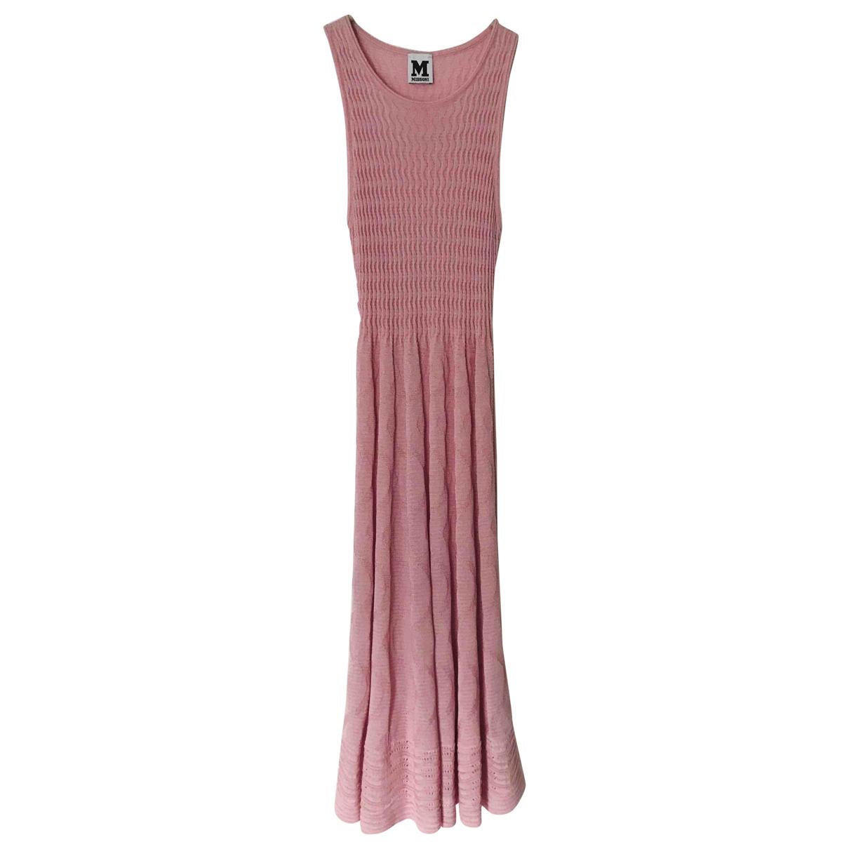 M Missoni - Robe   pour femme - rose