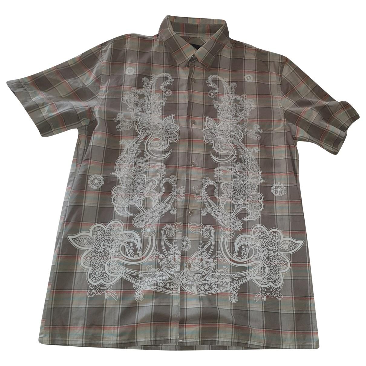 Diesel - Chemises   pour homme en coton - multicolore