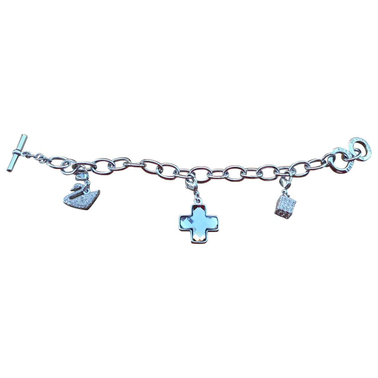 Swarovski - Bracelet   pour femme en chaine - argente