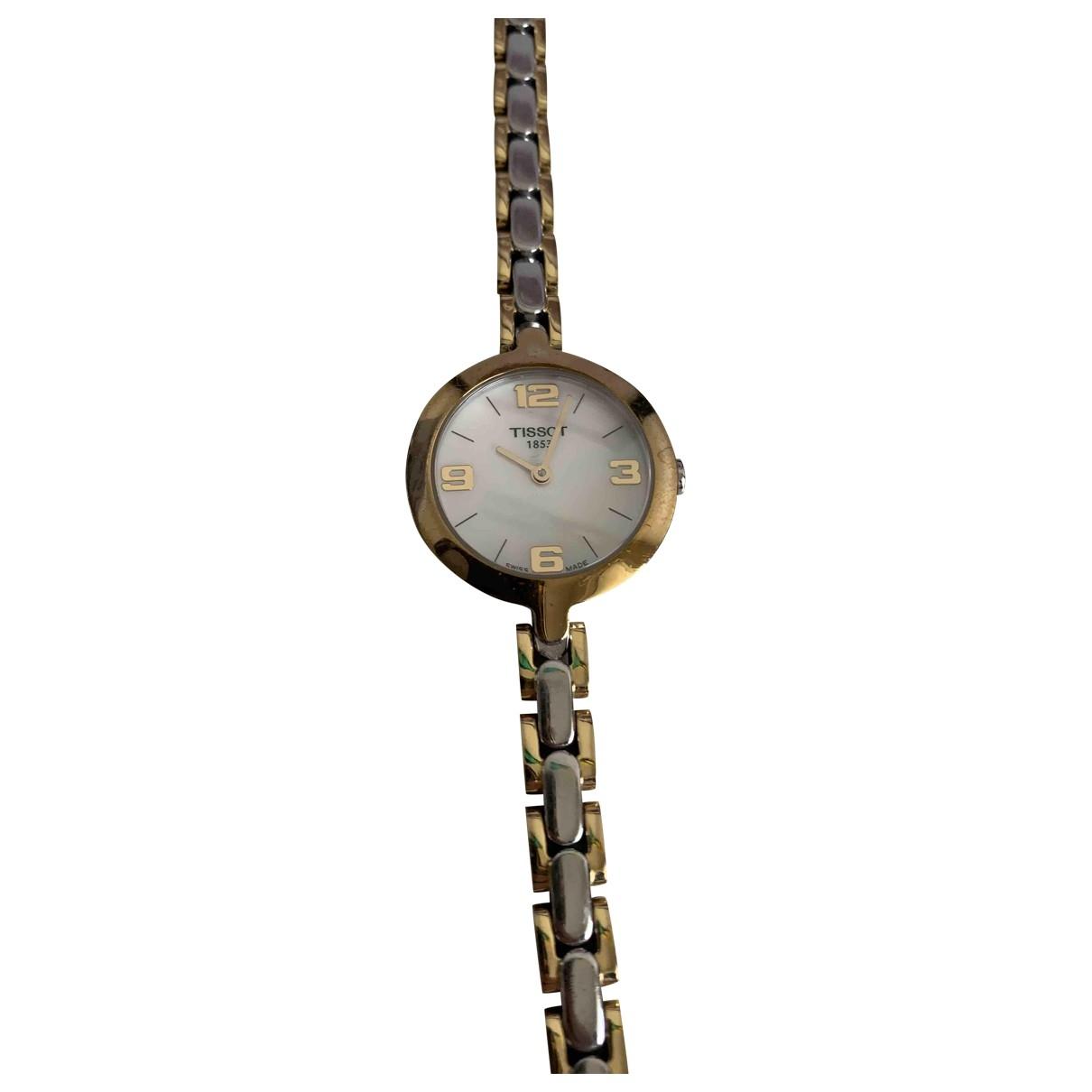 Tissot \N Uhr in  Metallic Stahl