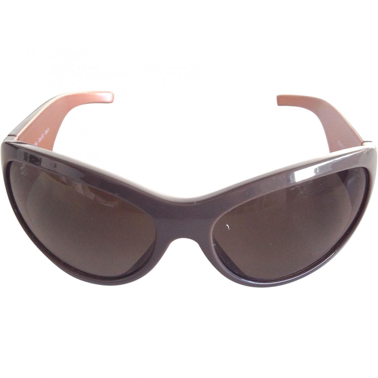 Karl Lagerfeld \N Sonnenbrillen in  Braun Kunststoff