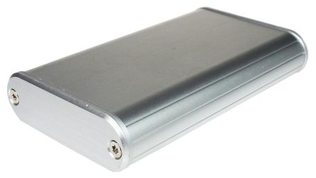 Takachi Electric Industrial MXA Silver Aluminium Handheld Enclosure, 57 x 96 x 18mm
