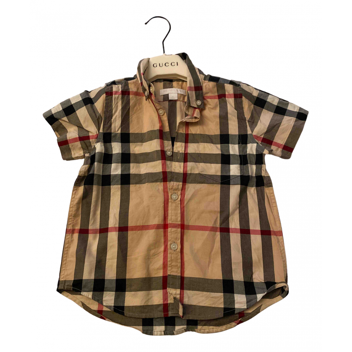 Burberry N Brown Cotton  top for Kids 4 years - up to 102cm FR