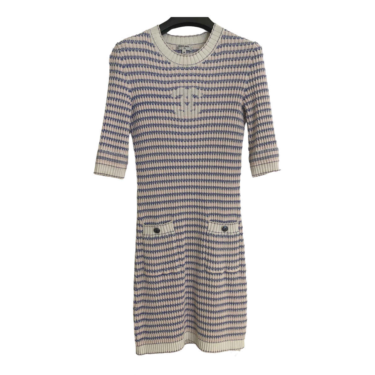 Chanel \N Pink Cotton dress for Women 38 FR