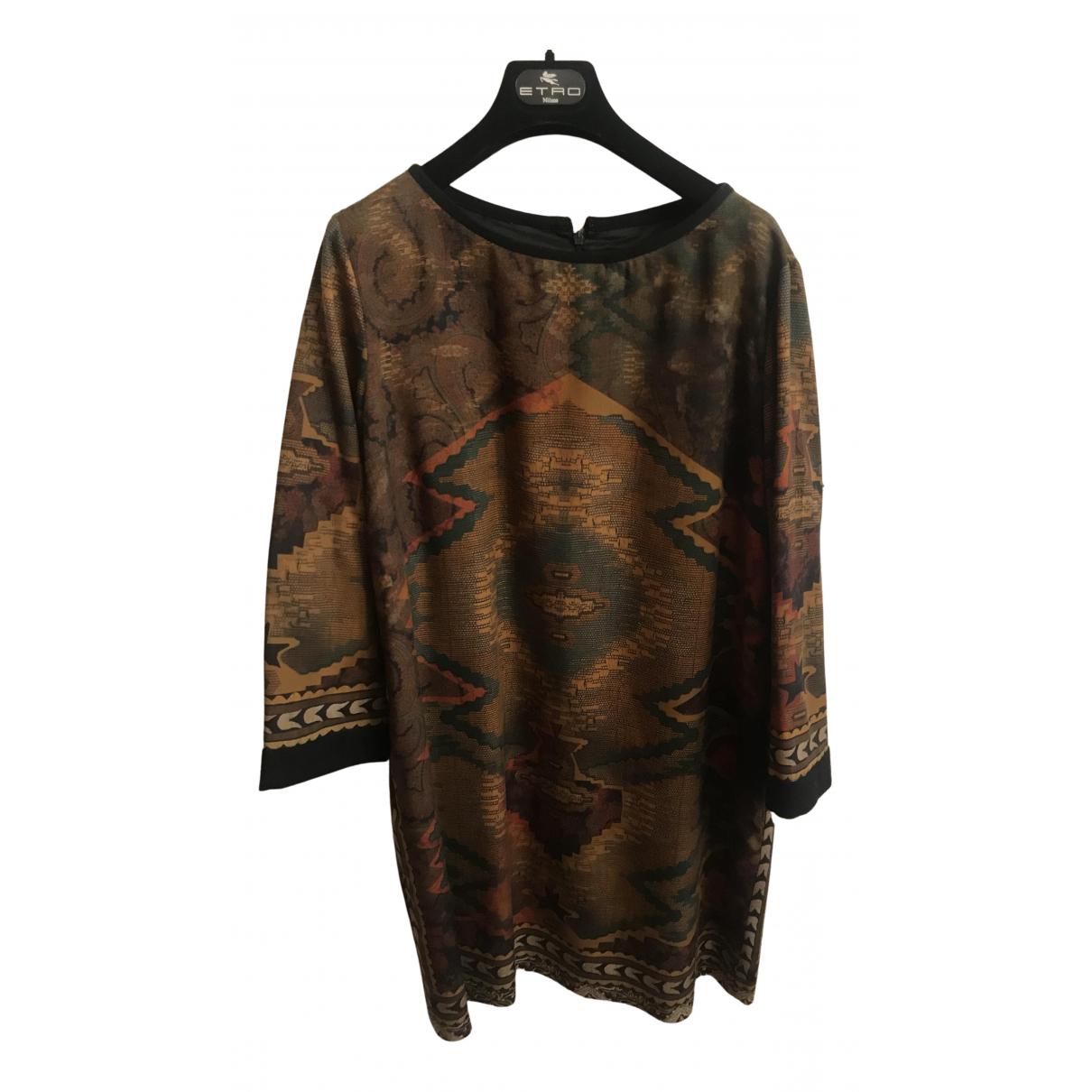 Etro \N Kleid in  Bunt Wolle