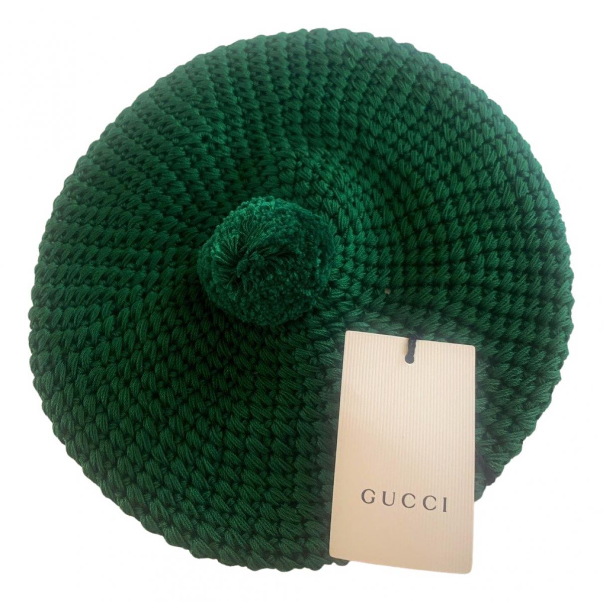 Gucci N Green Cotton hat for Women M International