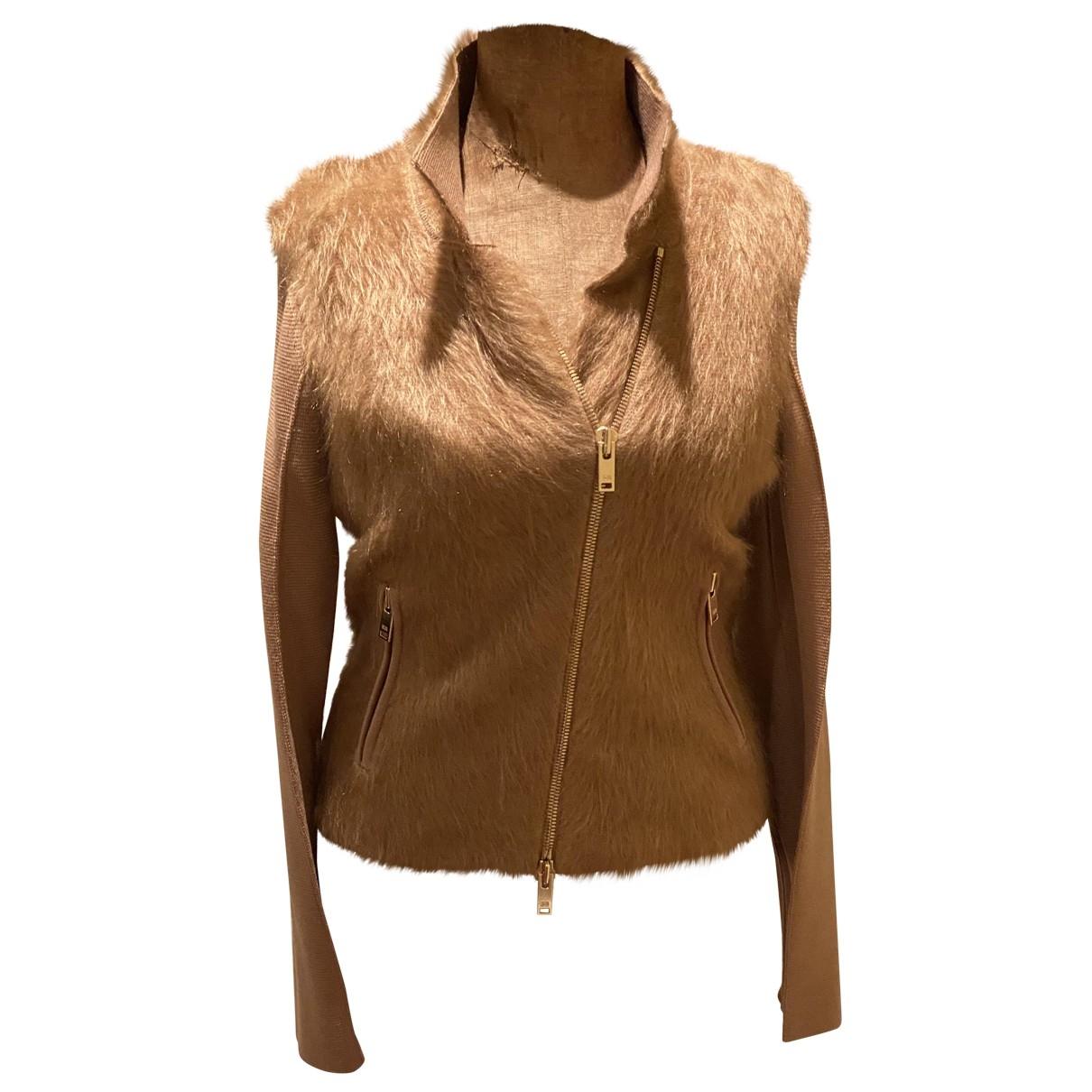 Sonia Rykiel \N Camel Wool jacket for Women 40 FR