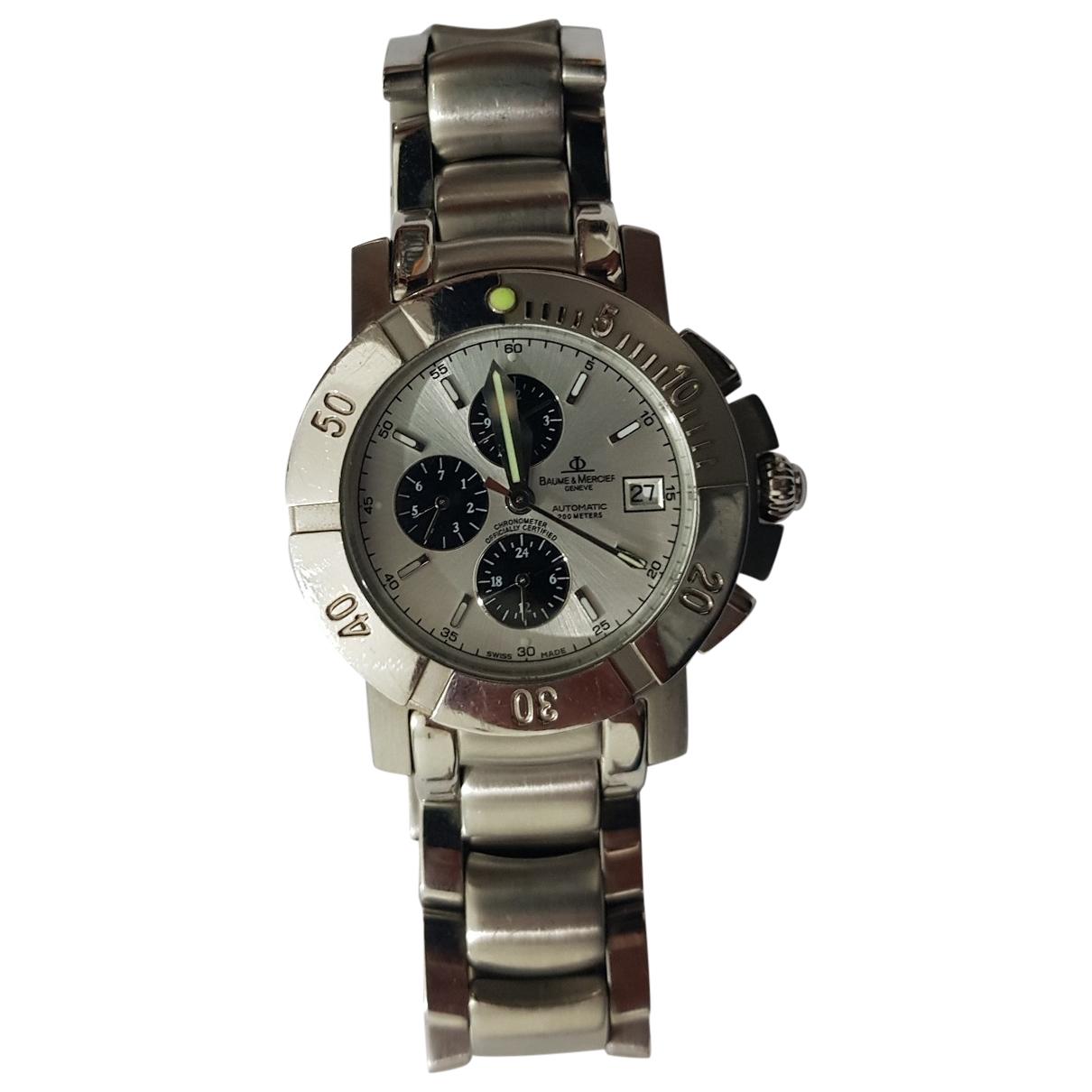 Baume Et Mercier Capeland Uhr in  Silber Stahl