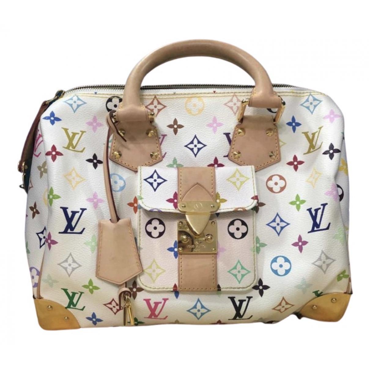 Louis Vuitton - Sac a main Speedy pour femme en toile - multicolore