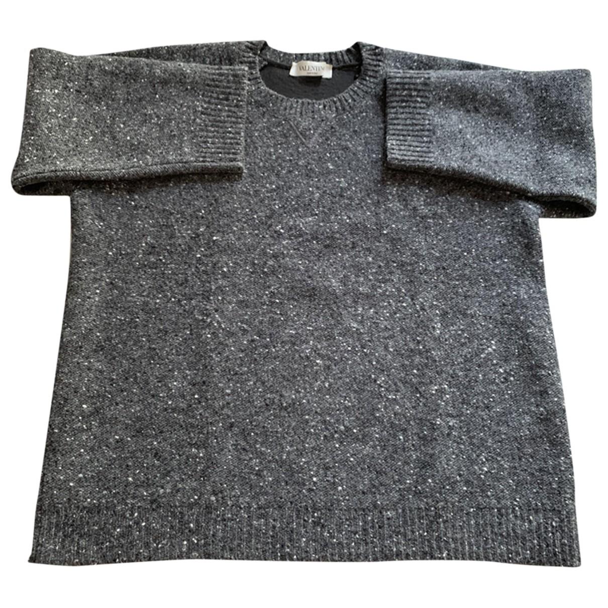 Valentino Garavani - Pull   pour femme en laine - gris