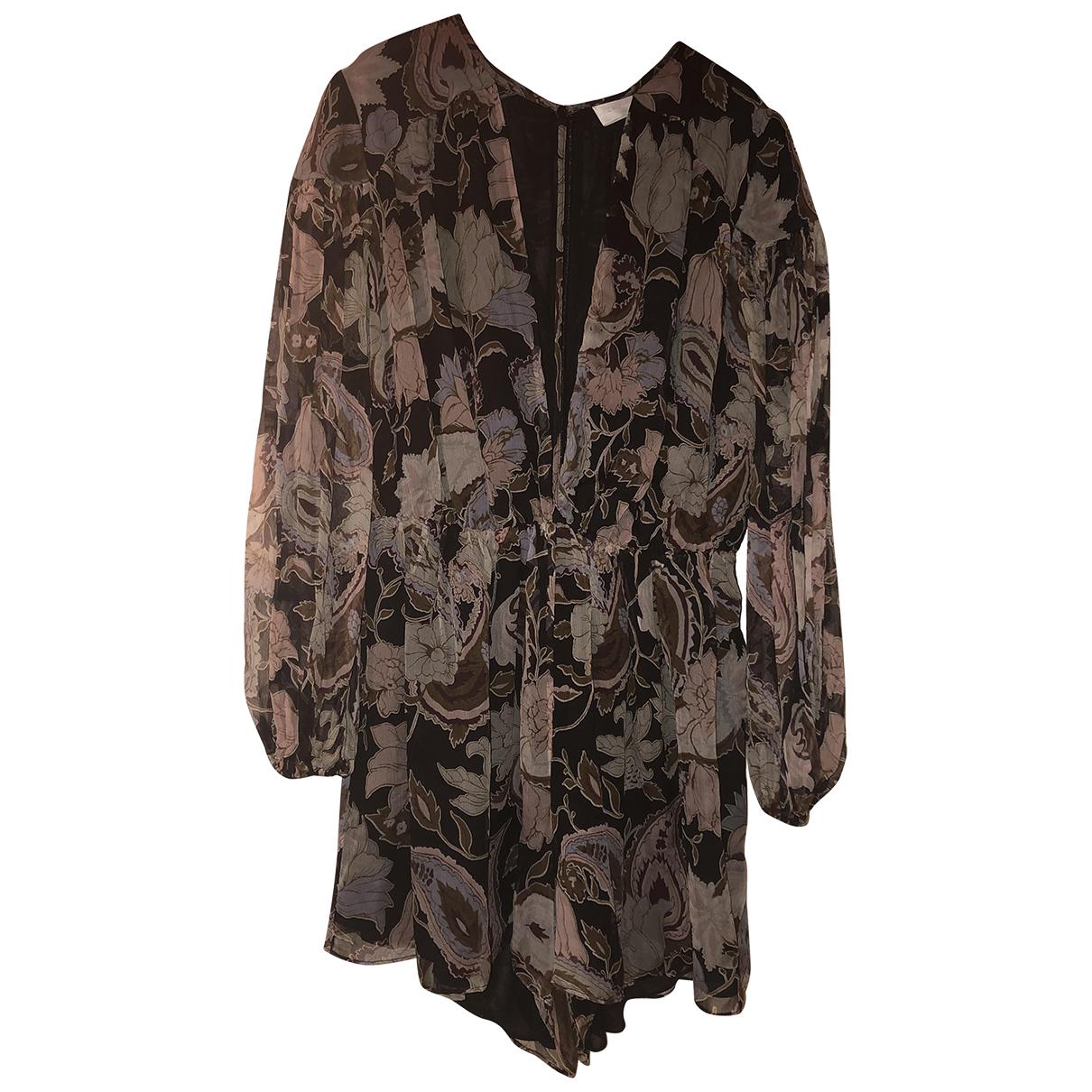 Zimmermann \N Black Silk jumpsuit for Women 2 0-5