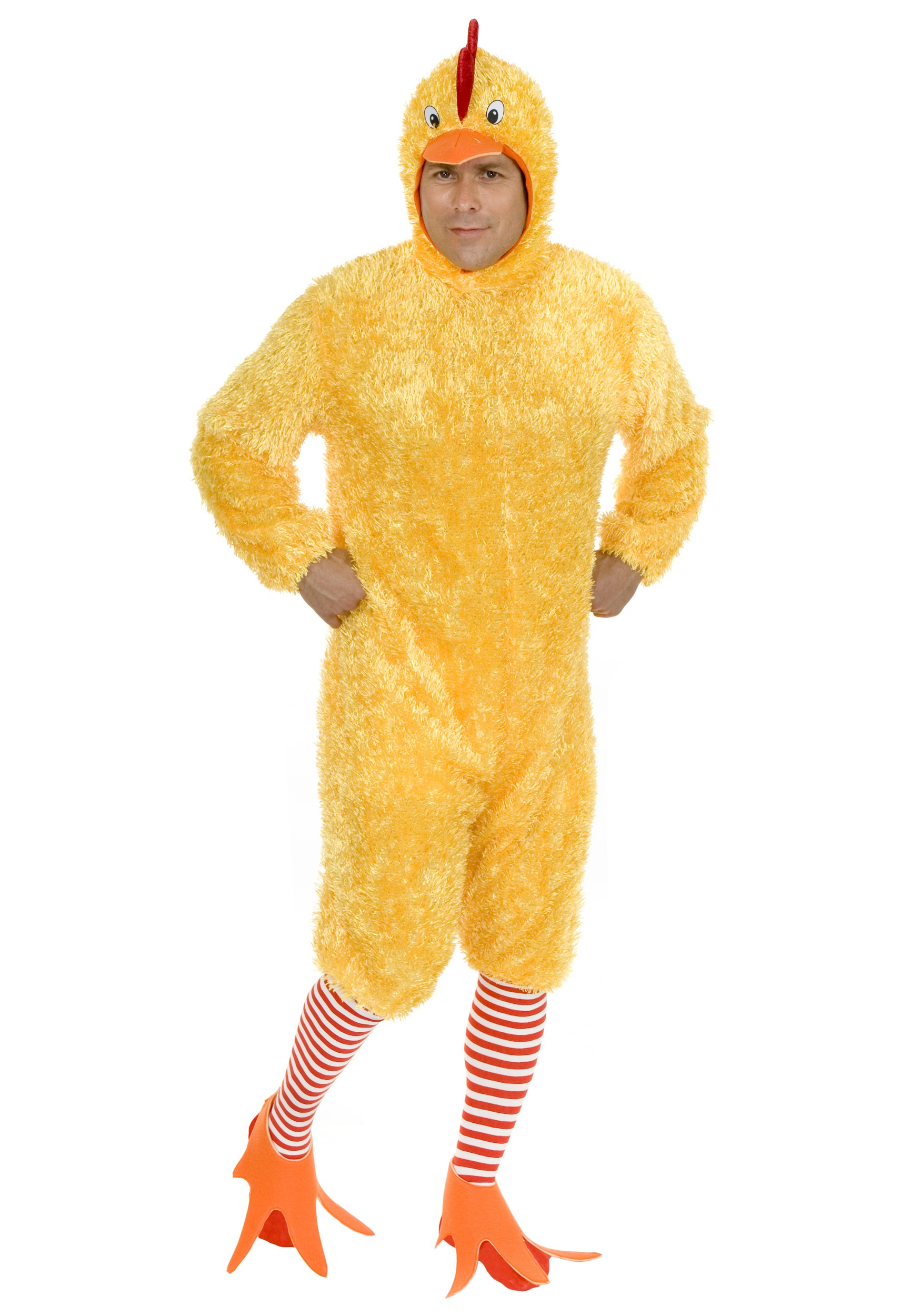 Plus Size Funky Chicken Costume | Adult Chicken Costume