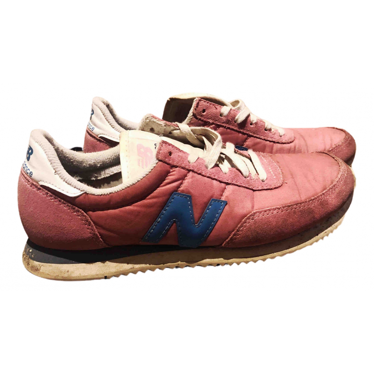 New Balance \N Pink Cloth Trainers for Women 37 EU