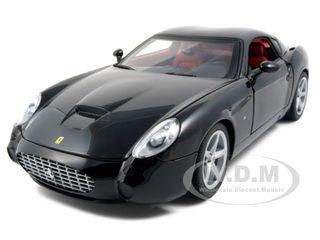Ferrari 575 GTZ Zagato Black 1/18 Diecast Model Car by Hotwheels