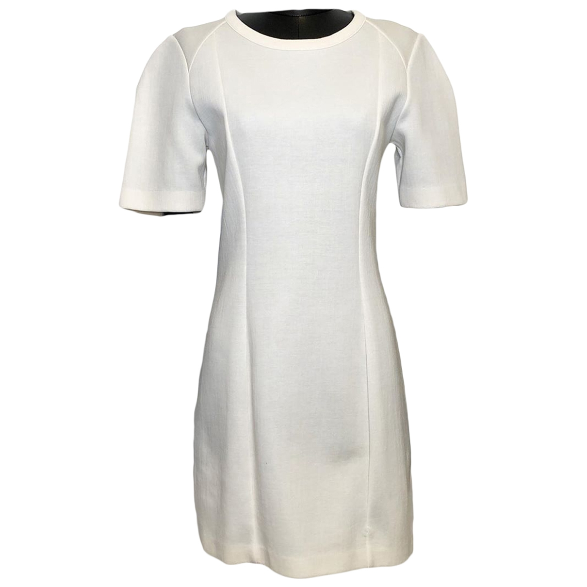 Stella Mccartney \N Kleid in  Ecru Polyester