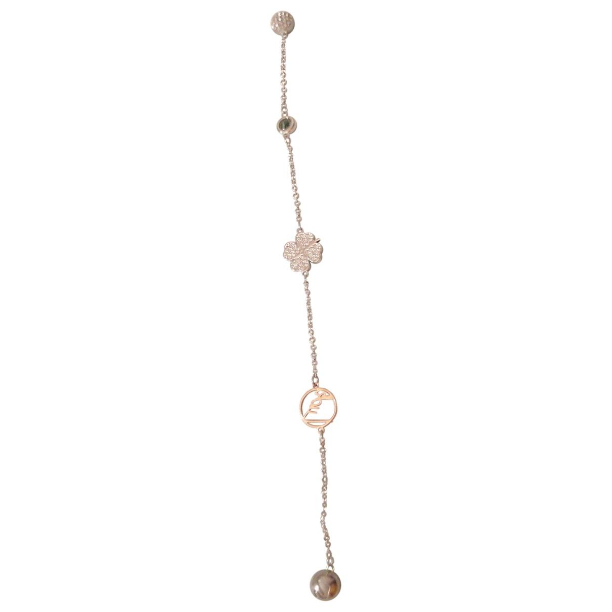 Swarovski - Bracelet   pour femme en metal - argente