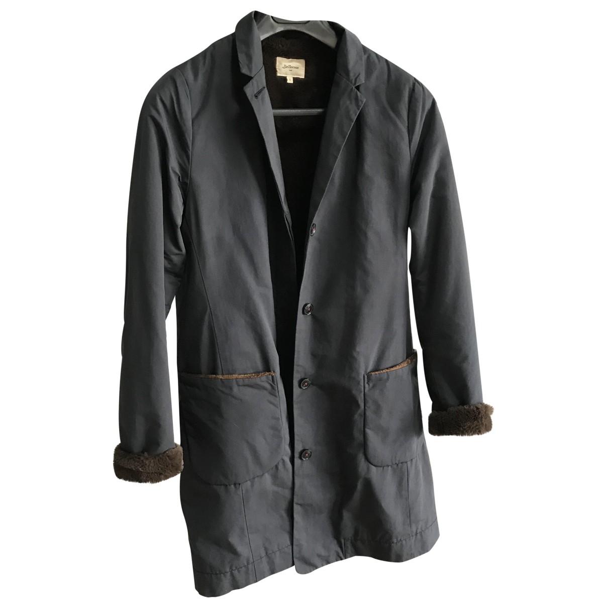 Bellerose \N Anthracite Cotton coat for Women 38 FR