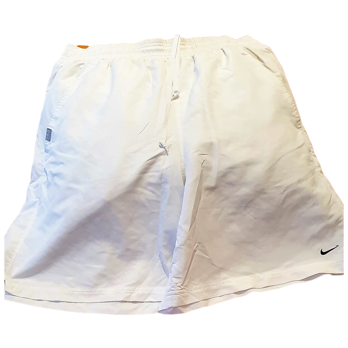 Nike \N Shorts in  Weiss Polyester