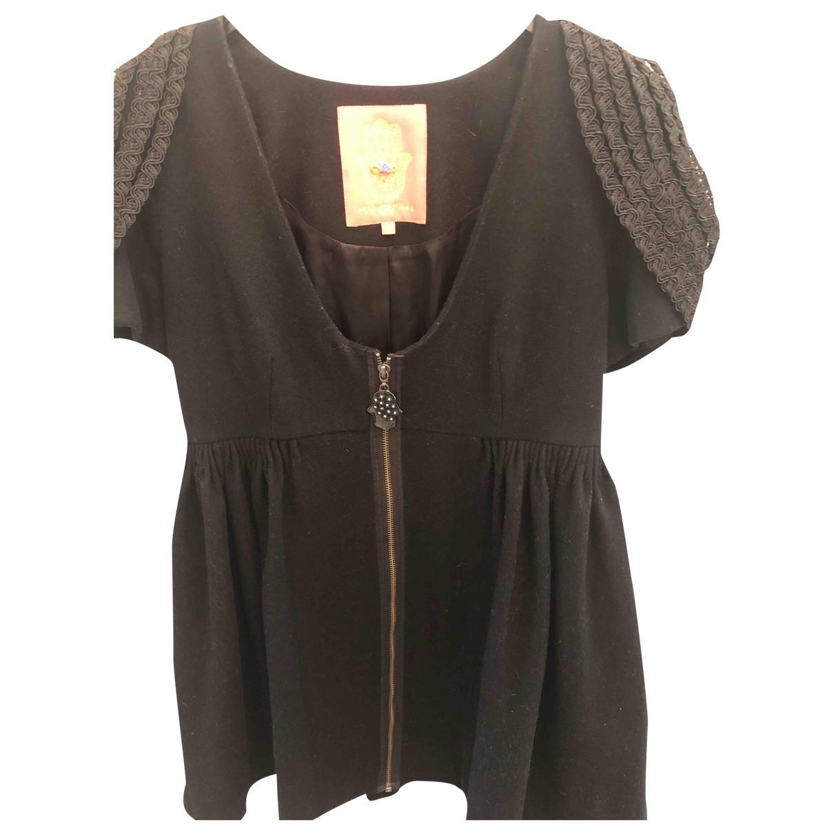 Manoush \N Black Wool  top for Women 40 FR