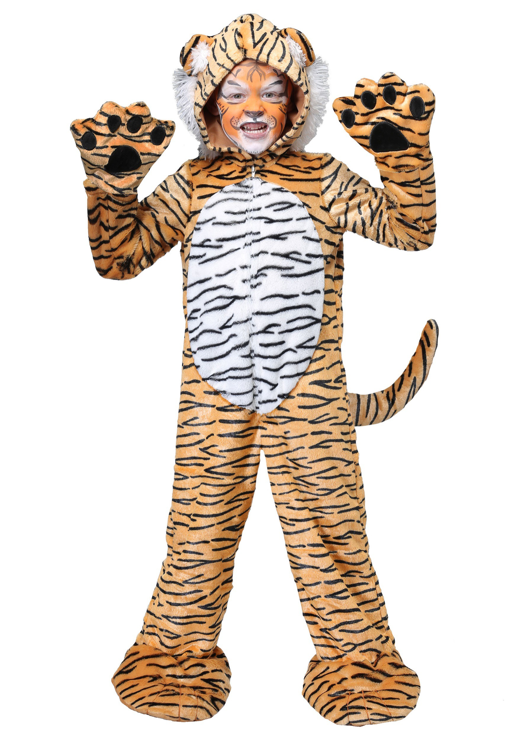 Premium Tiger Costume for Kids