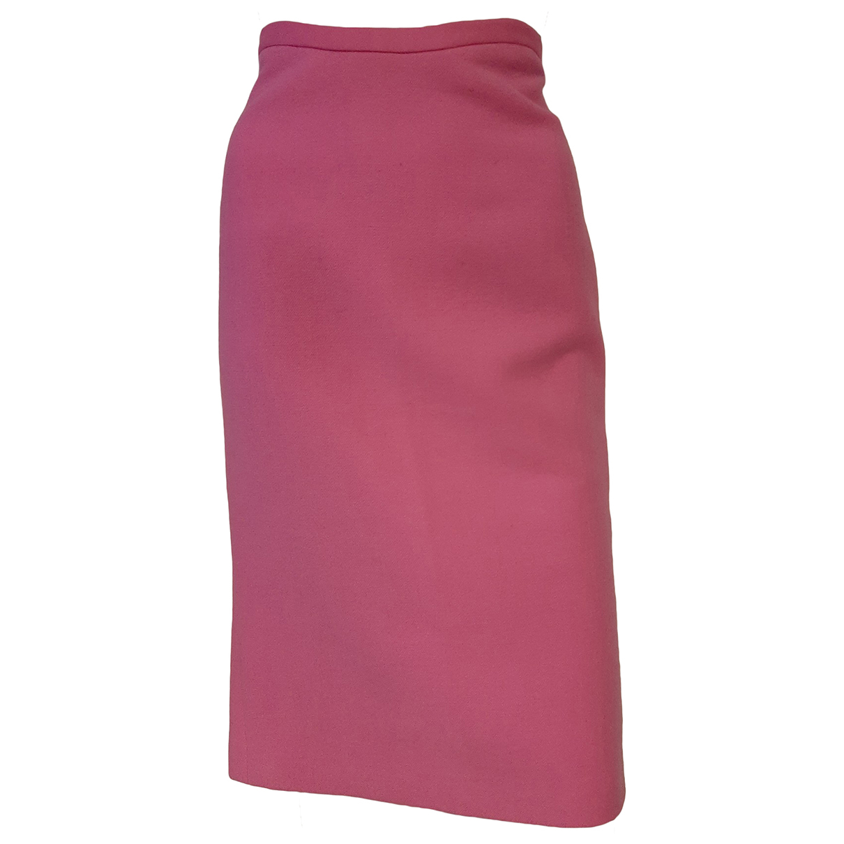 Gianni Versace \N Pink Wool skirt for Women 42 FR