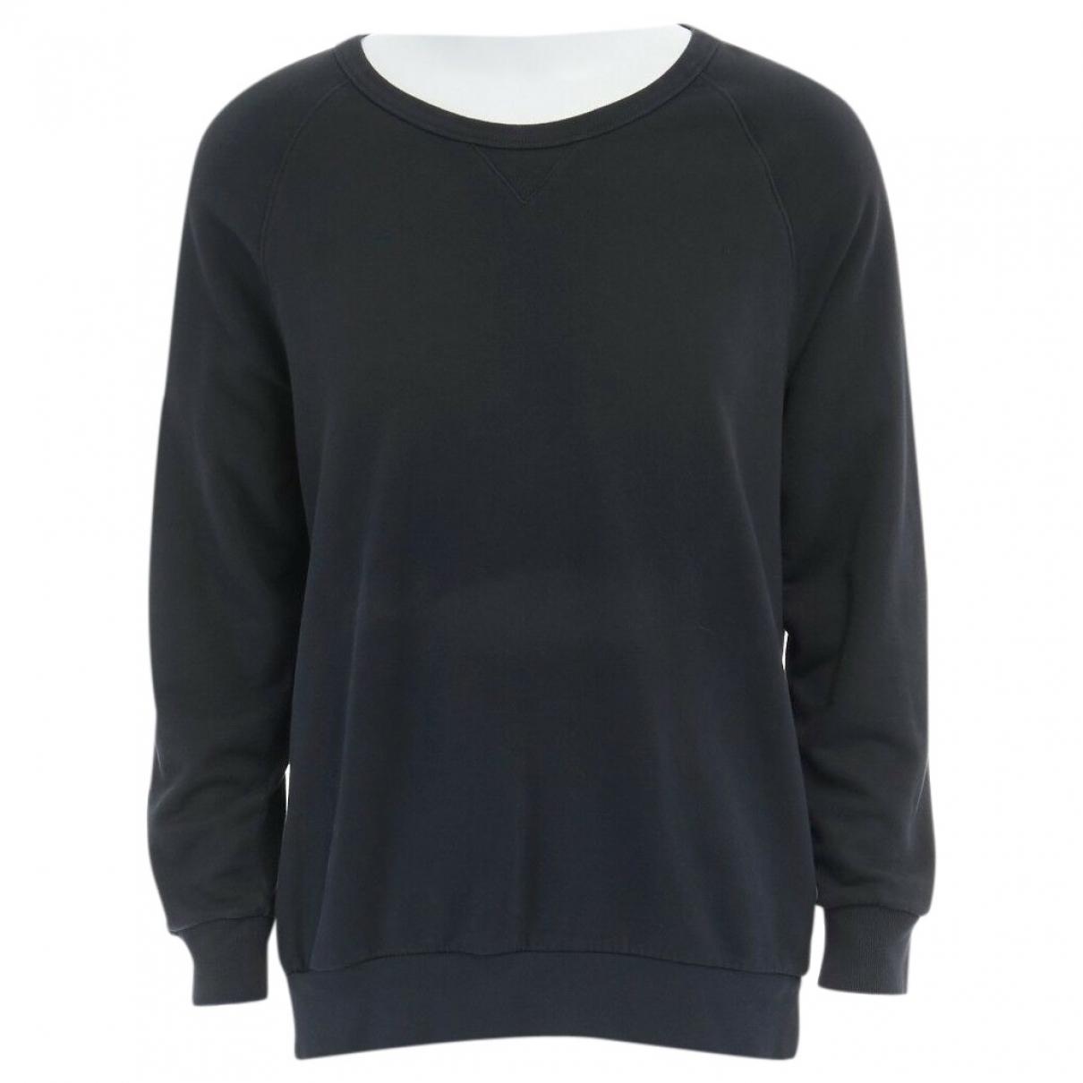 Dries Van Noten \N Pullover.Westen.Sweatshirts  in  Schwarz Baumwolle