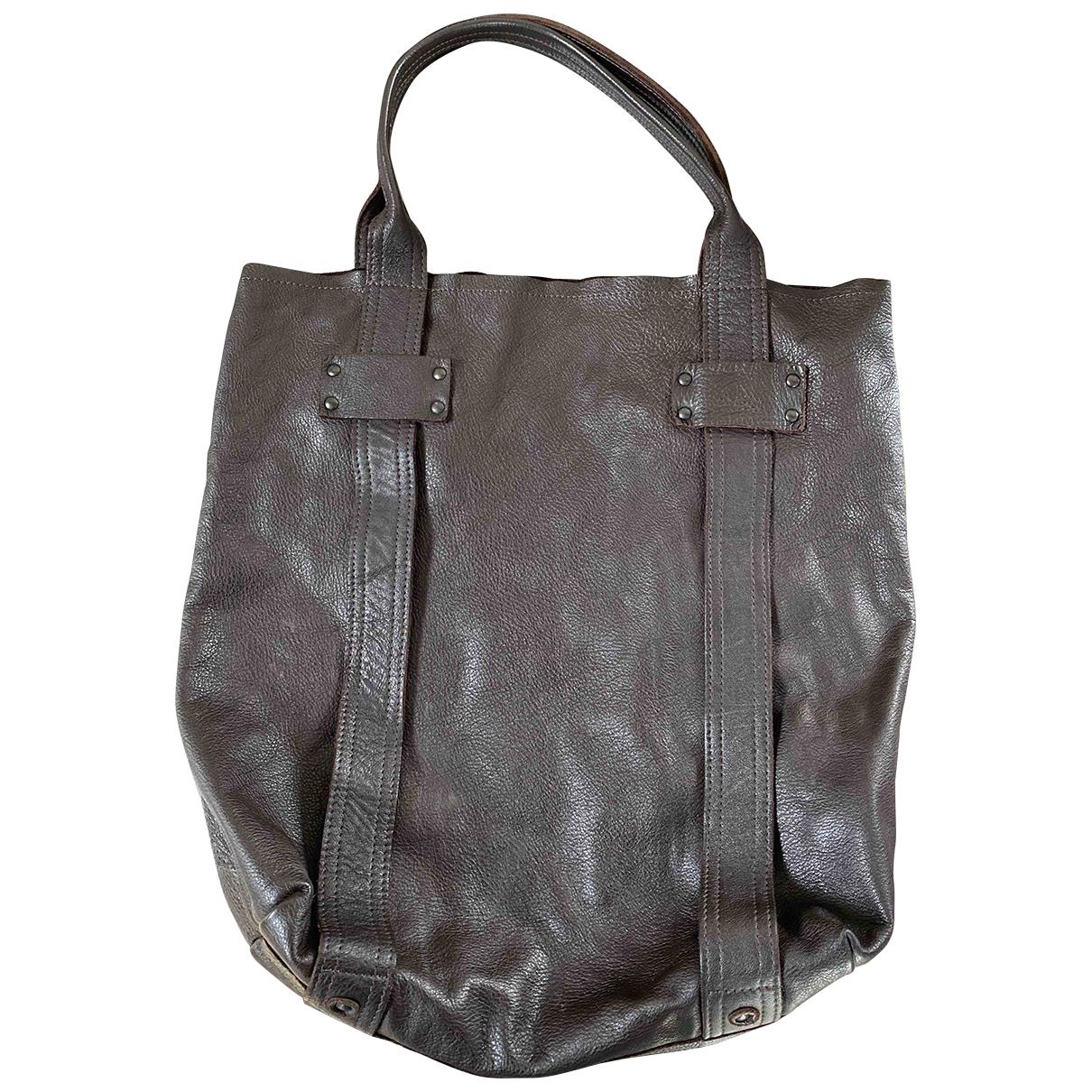 Stephane Verdino \N Brown Leather handbag for Women \N