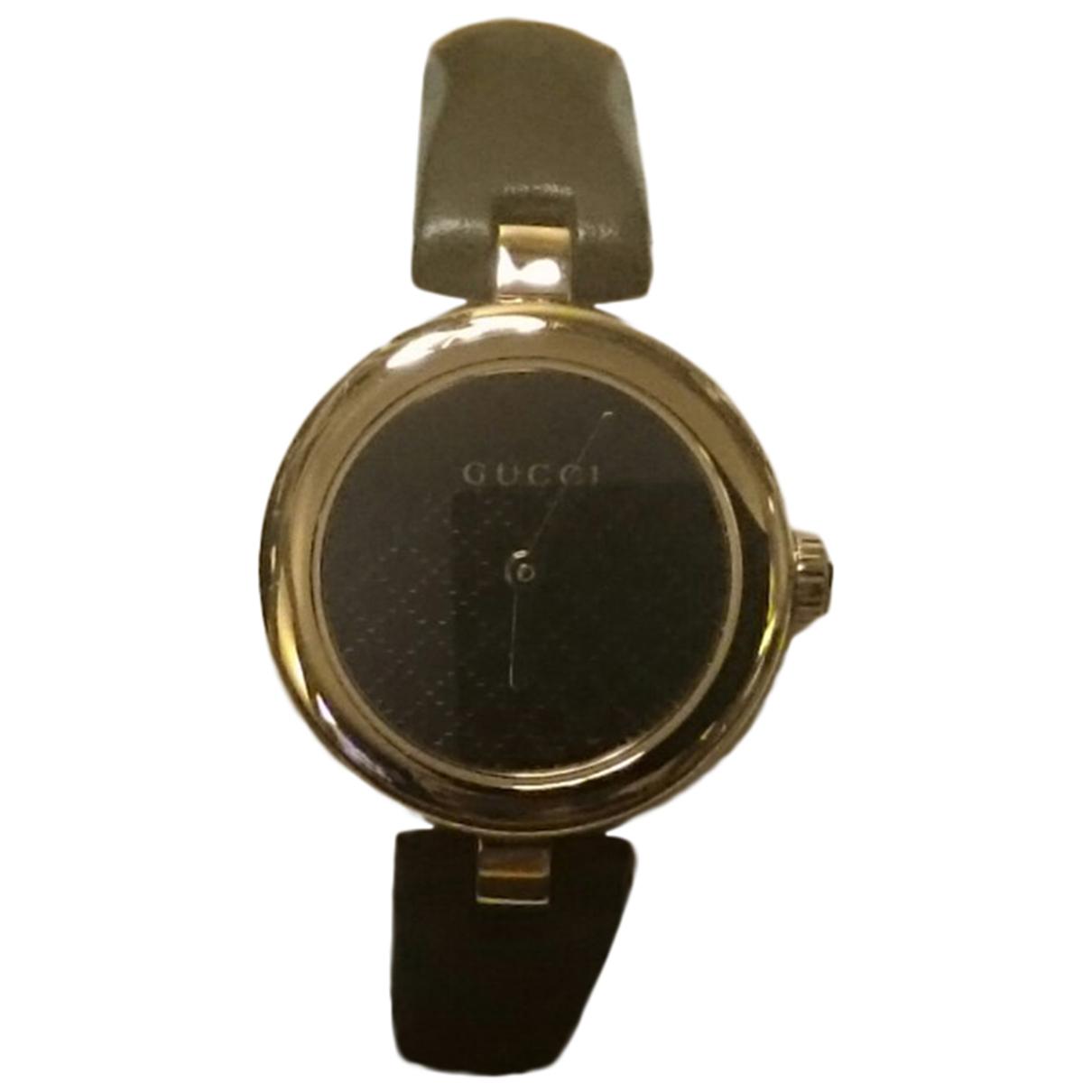Gucci - Montre Diamantissima pour femme en acier - noir