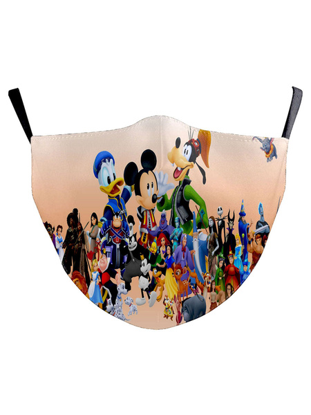 Milanoo Disney Mickey Mouse Cartoon Face Covering