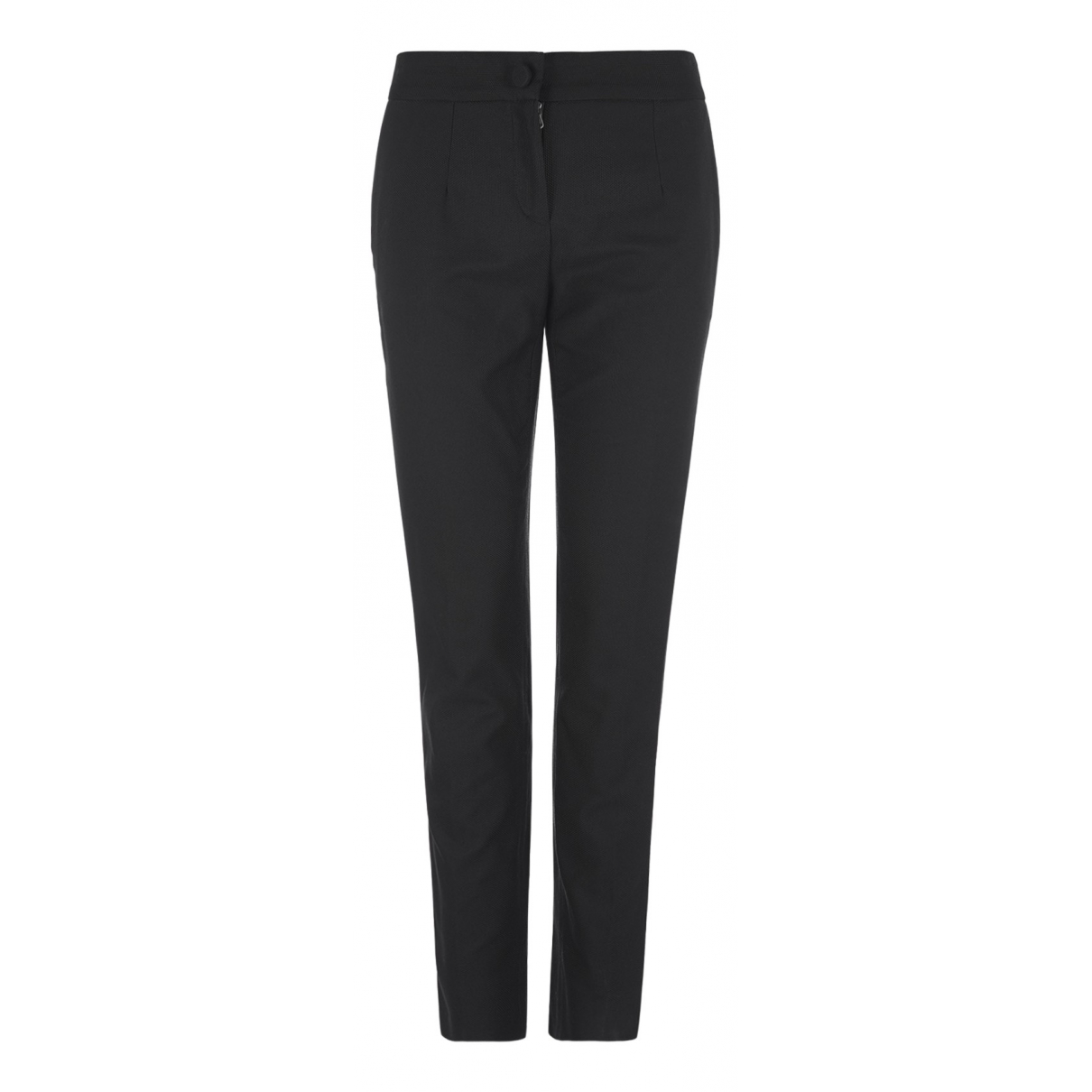 Dolce & Gabbana N Black Cotton Trousers for Women 8 UK