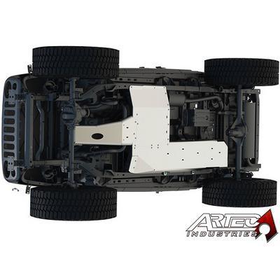 Artec Industries JK Under Armor Belly Pan Kit (Natural Aluminum) - JK1010
