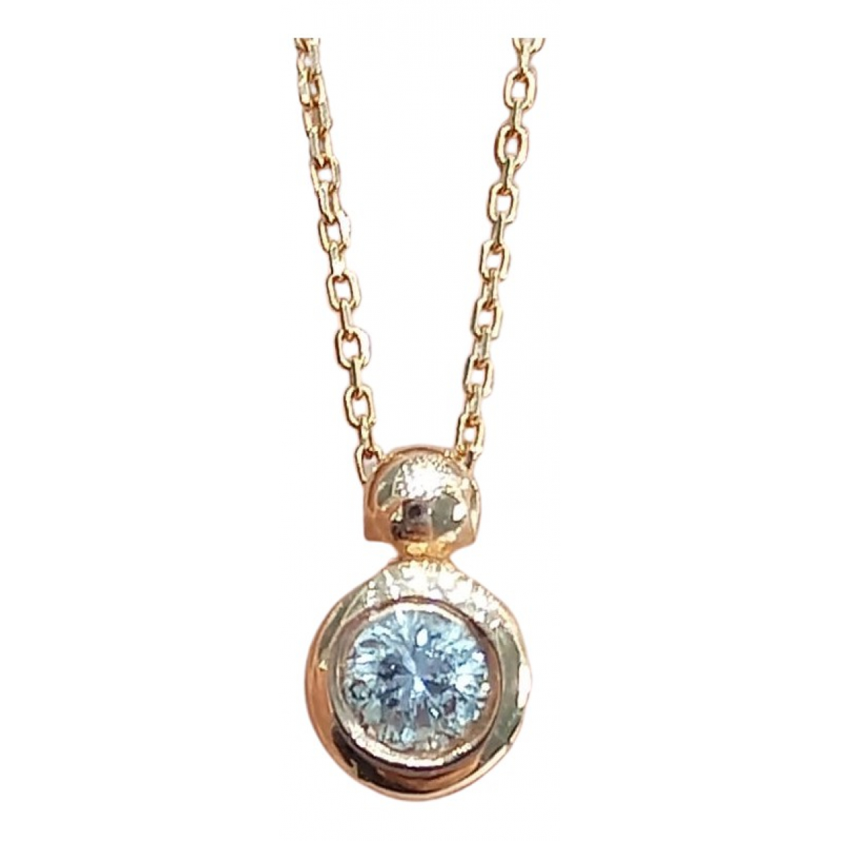 Collar Chaines de Oro rosa Non Signe / Unsigned