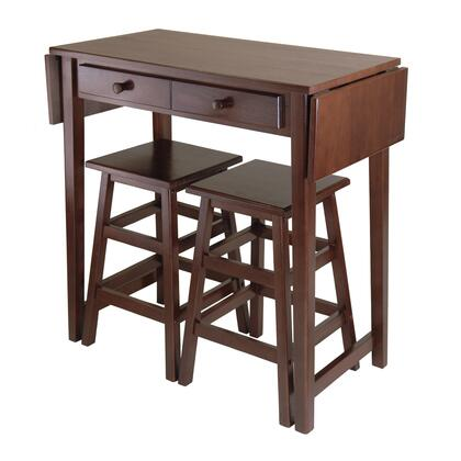 40338 Mercer Double Drop Leaf With 2 Stools