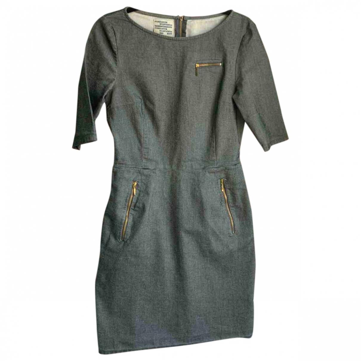 Baum Und Pferdgarten - Robe   pour femme en coton - elasthane - gris