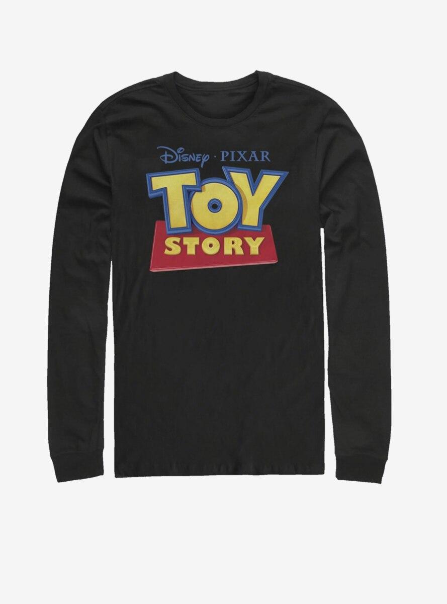 Disney Pixar Toy Story 3D Logo Long-Sleeve T-Shirt