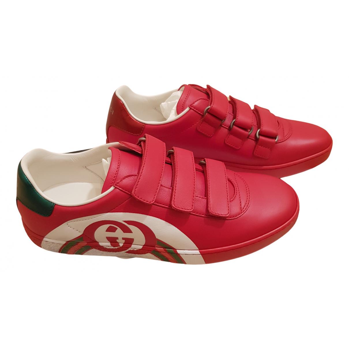 Deportivas Ace de Cuero Gucci