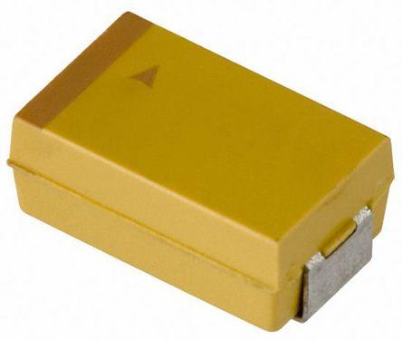 AVX Tantalum Capactitor 470μF 6.3V dc Electrolytic Solid ±20% Tolerance , TAJ (500)