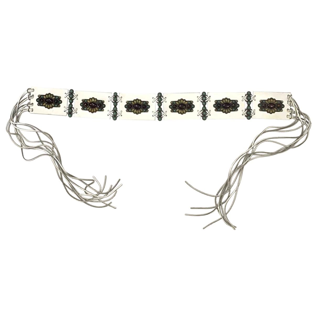 Alberta Ferretti \N White Leather belt for Women S International