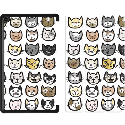 Amazon Fire 7 (2017) Tablet Smart Case - 28 Cats von caseable Designs